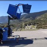 Машина за събиране на лавандула – MKL